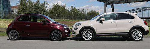 Fiat 500X e Fiat 500