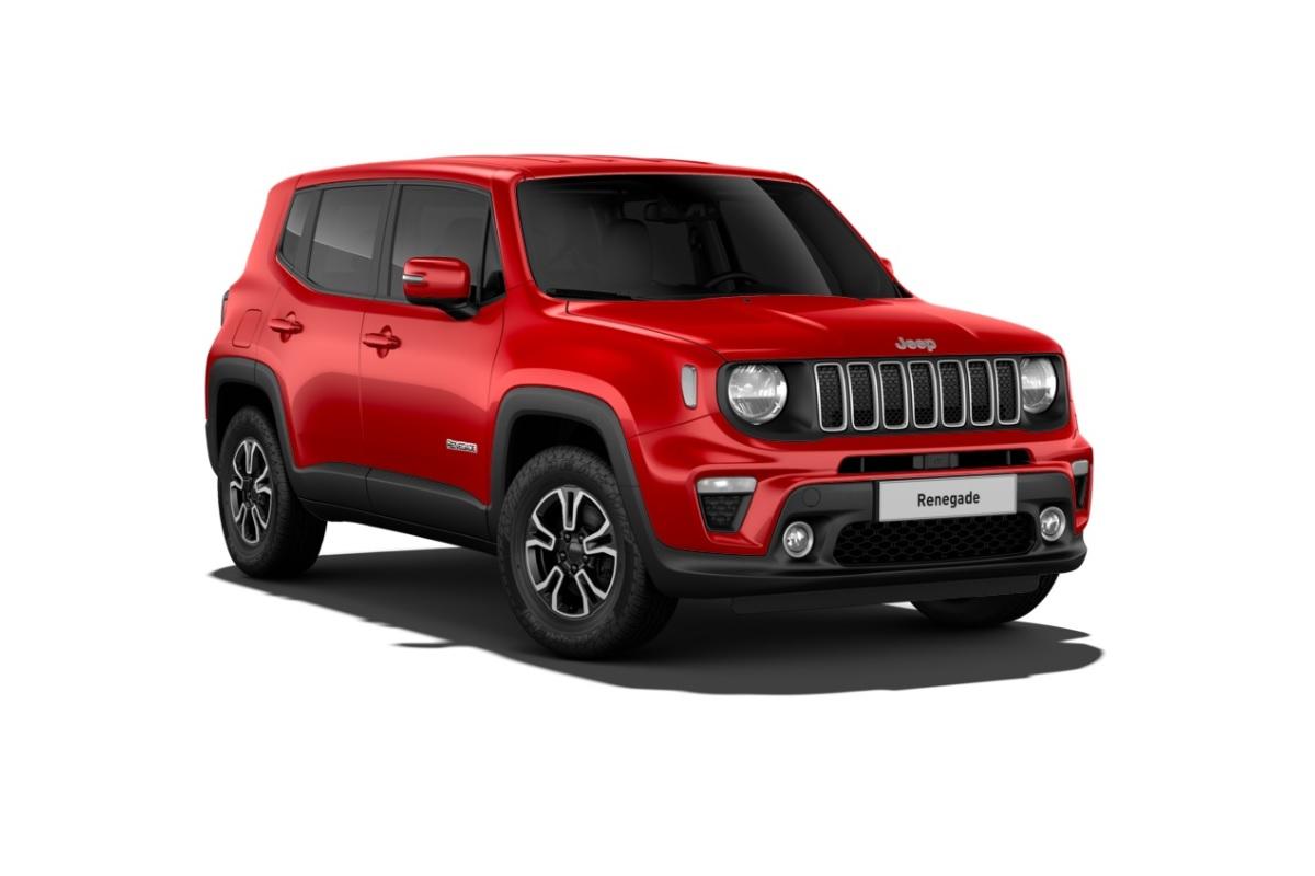 Jeep Renegade Noleggio Lungo Termine: le offerte per Privati